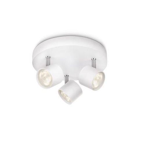 Philips spot LED Star blanc 3x3W