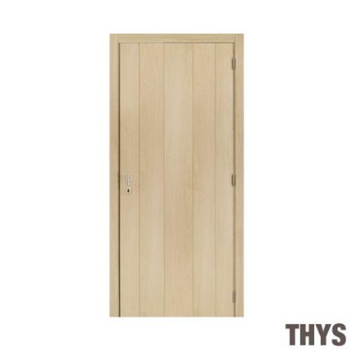 Bloc-porte Thys 'Concept Real Oak à planches' 63cm