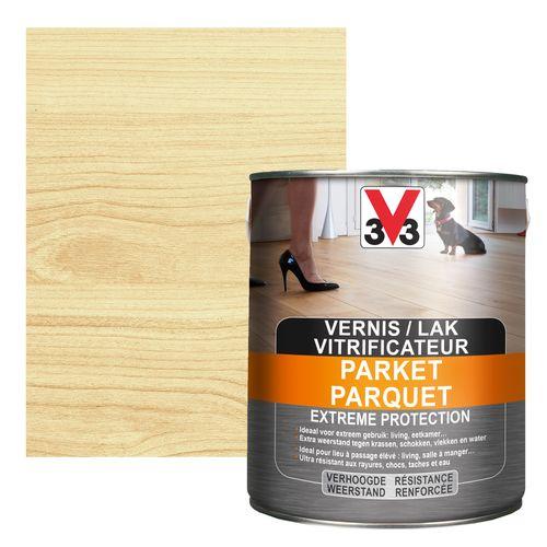 Vitrificateur parquet V33 Extreme Protection inColore mat 2,5L