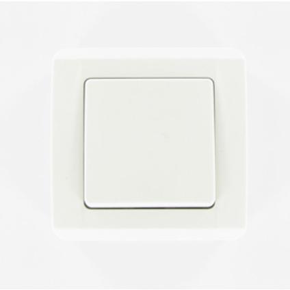 Baseline schakelaar 1-polig wit