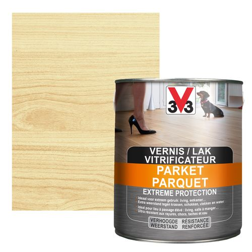 Vitrificateur parquet V33 Extreme Protection inColore satiné 2,5L