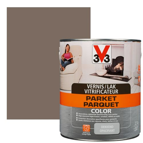 Vitrificateur V33 Parquet Color vison satiné 2,5L