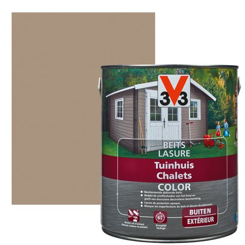 Lasure V33 Color chalets sandstone satiné 2,5L