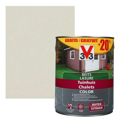 Lasure V33 'Chalets' salar grey 3L