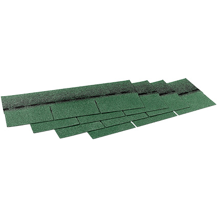 Aquaplan dakshingles 'Easy shingles' groen 2 m²