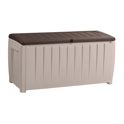 Keter opbergbox Novel beige/bruin 125x55cm