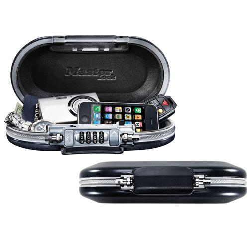 Master Lock mobiele kluis Safe Space met combinatieslot en kabel