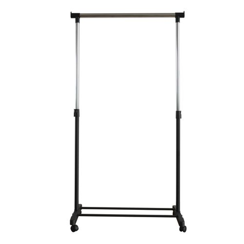 Portant pour vêtements simple Wizz noir 90x79,5x43cm