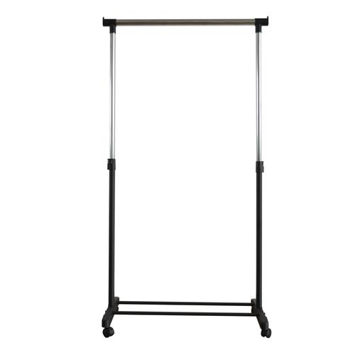 Portant pour vêtements simple Wizz noir 90x79,5x43cm