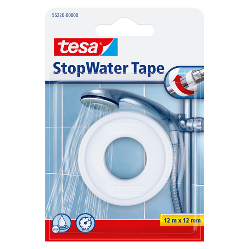 Tesa water tape 'Stopwater' wit 12mx12mm