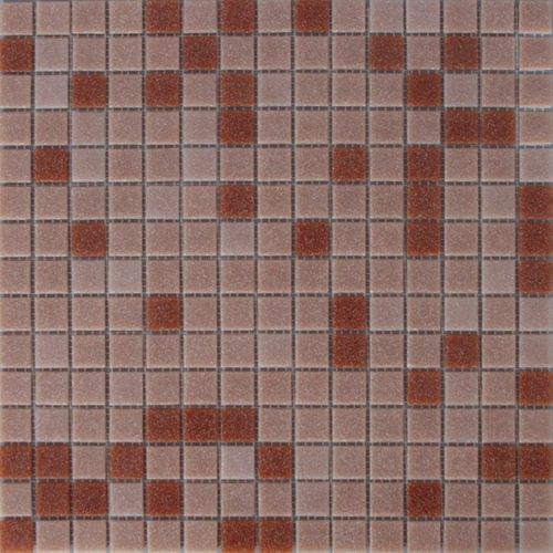 Mozaïek tegel glas mix beige 32,5x32,5cm