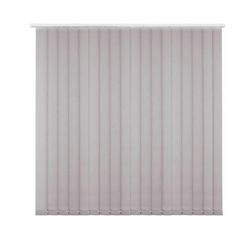 Kit store à lamelles verticales Madeco gris 150 cm