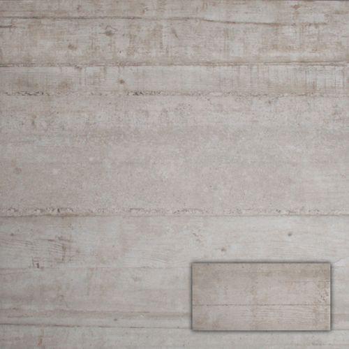 Wand- en vloertegel Betonage beige 30,5x60,5cm
