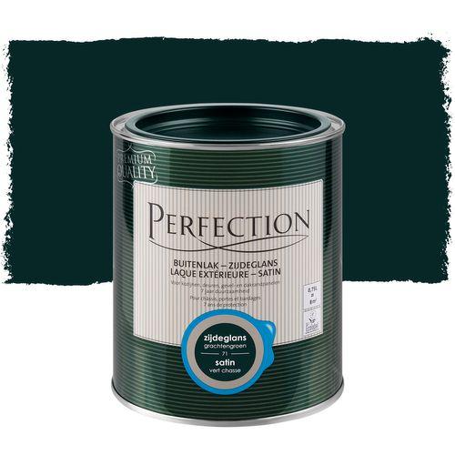 Laque extérieure Perfection vert chasse satin 750ml