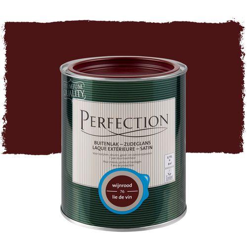 Laque Perfection couleur vin rouge satin 750ml