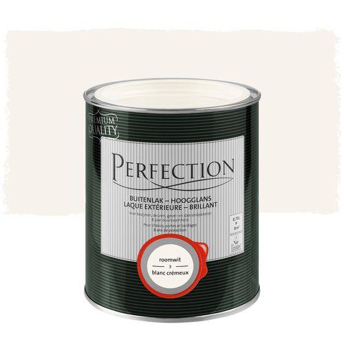 Laque extérieure Perfection blanc crémeux brillant 750ml