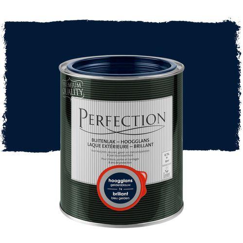 Laque extérieure Perfection bleu gelders brillant 750ml