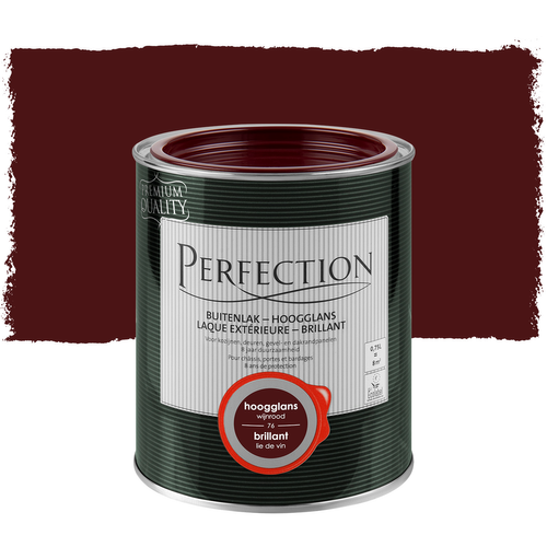 Perfection lak wijnrood hoogglans 750ml