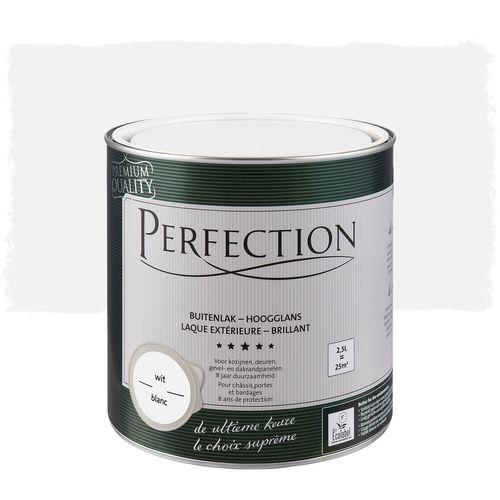 Laque extérieure Perfection blanc brillant 2,5L