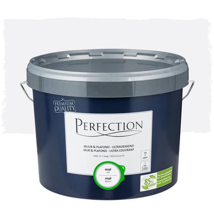 Perfection Muur & Plafond Ultradekkend mat wit 10L