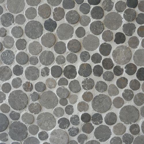 Mozaïek tegel Coin grijs 29,4X29,4cm