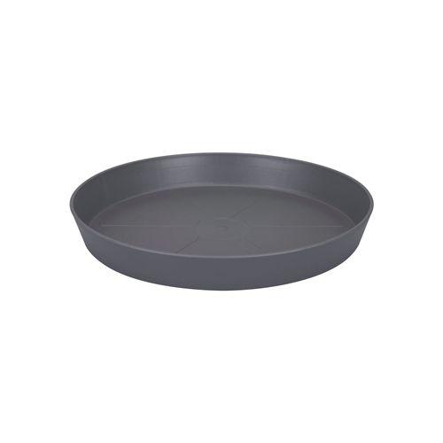 Elho onderschotel 'Loft Urban Round' antraciet 21 cm