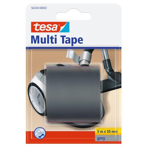 Tesa 'Multi Tape' grijs 5mx50mm