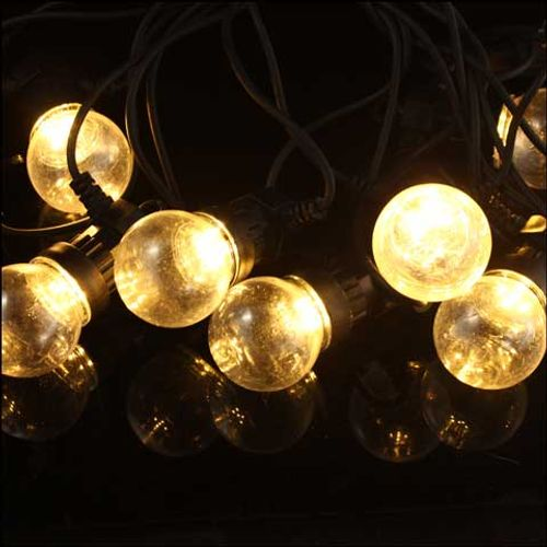 Lumières de Noël boule lumineuse Central Park