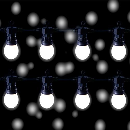 Éclairage de fête LED blanc chaud Central Park 10 lampes