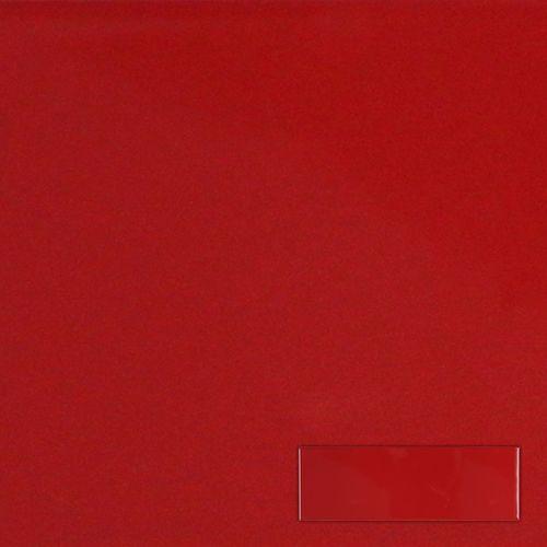 Wandtegel Rojo Brillo 10x30cm