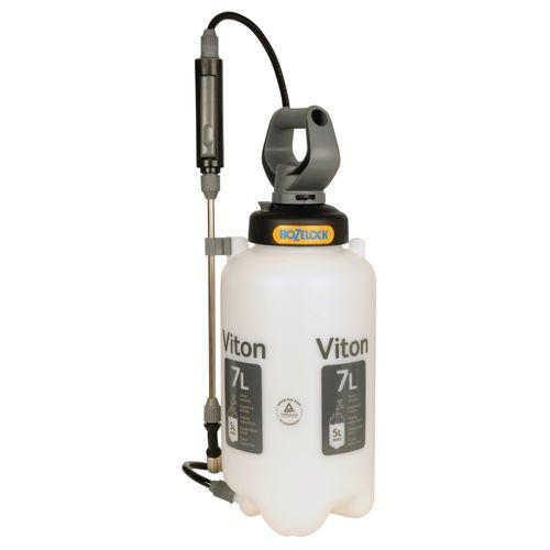 Hozelock Viton drukspuit 7 liter speciaal voor agressieve chemicaliën