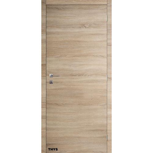 Bloc-porte promokit Thys 'S69 Authentique' plaqué chêne 73cm