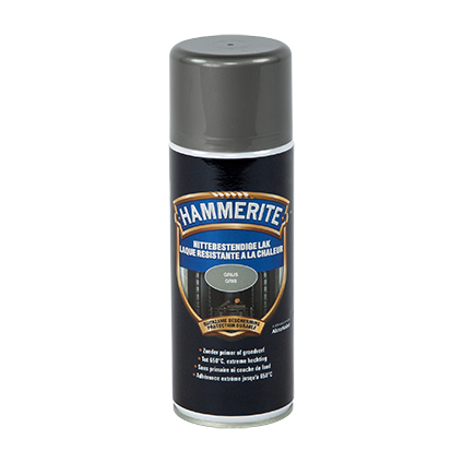 Laque anti-chaleur Hammerite gris 400ml
