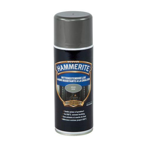 Hammerite hittebestendige lak grijs 400ml