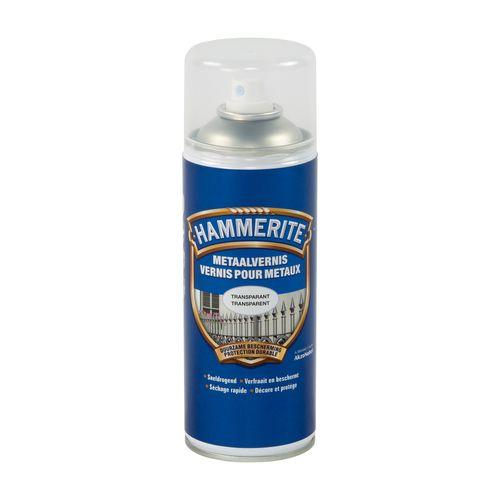 Vernis laque métaux Hammerite transparant 400ml
