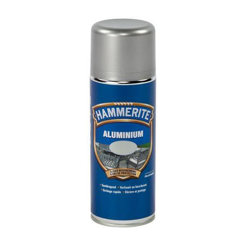 Spray laque métaux Hammerite métal aluminium 400ml