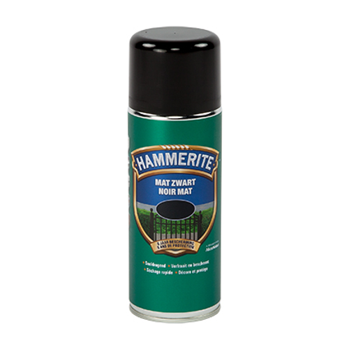 Hammerite metaallak zwart mat 400ml