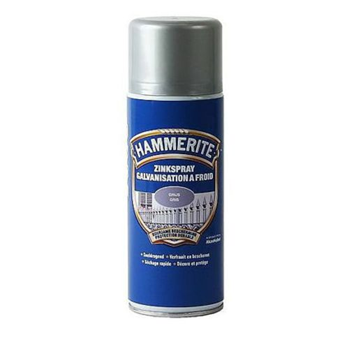 Spray zinc Hammerite gris 400ml