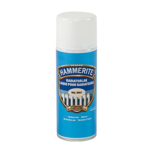 Laque radiateur Hammerite blanc cassé 400ml