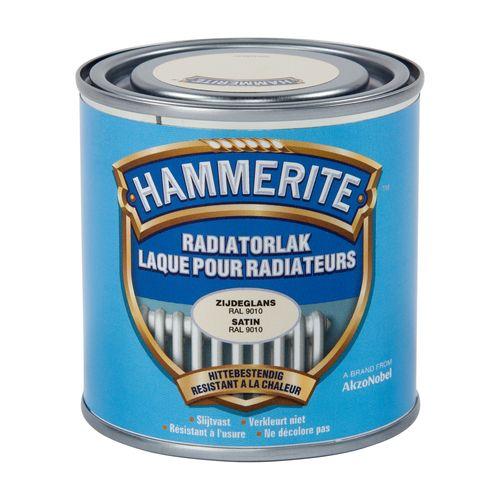 Laque radiateur Hammerite blanc 250ml