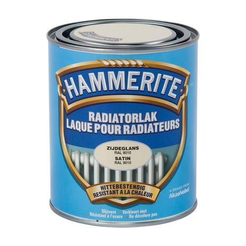 Laque radiateur Hammerite blanc 750ml