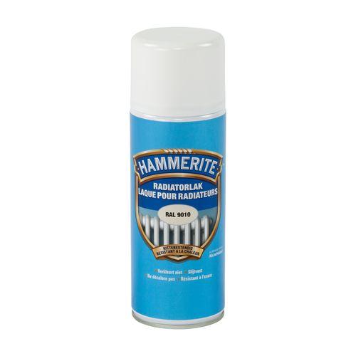 Laque radiateur Hammerite blanc 400ml