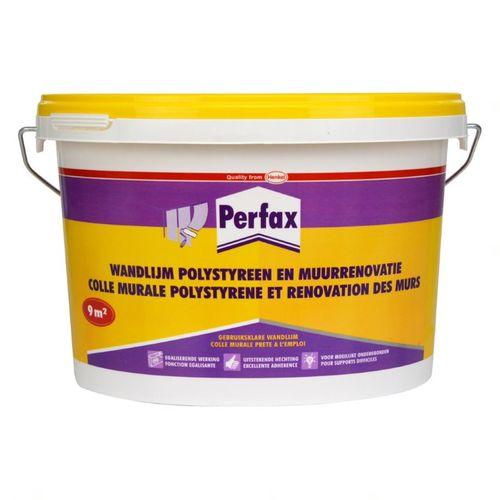 Perfax wandlijm polystyreen en muurrenovatie 4,5 kg