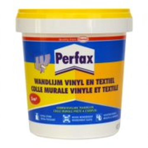 Colle murale vinyle et textile Perfax 750gr