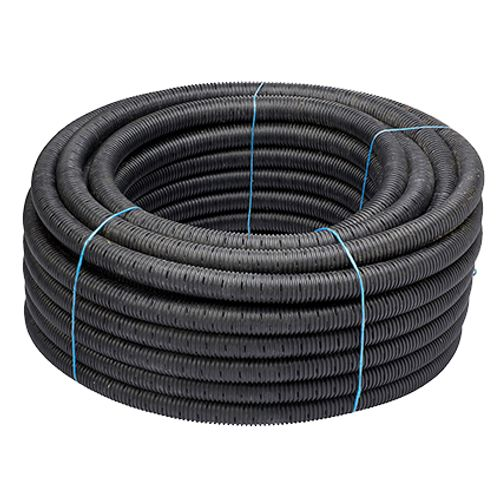Martens afwateringsbuis PVC grijs 80 mm x 1 m