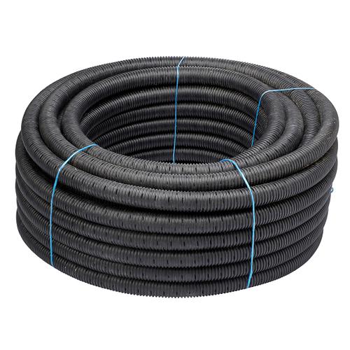 Martens afwateringsbuis polyester grijs 50 mm x 1 m