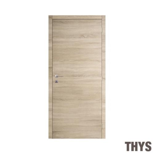 Bloc-porte promokit Thys 'S69 Authentique' plaqué chêne 83cm