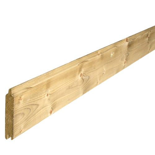 Solid tuinplank hout 200 x 14,7 x 2,8 cm