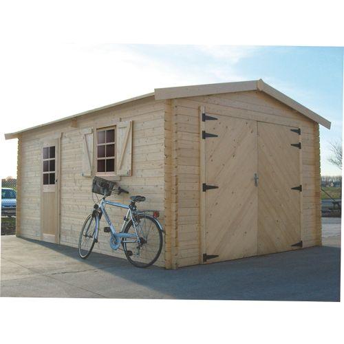 Solid garage S8944 17,07m²