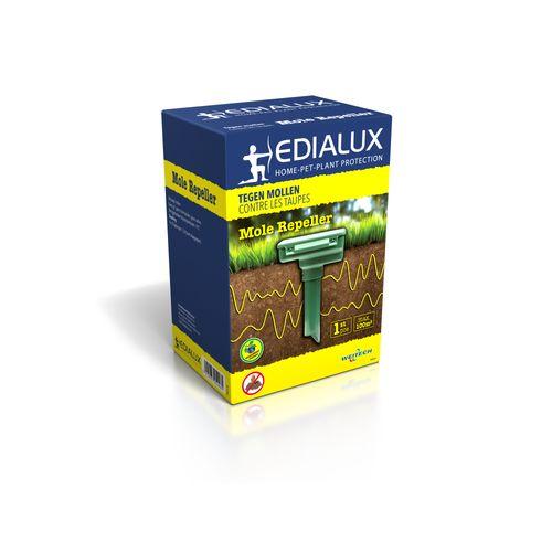 Répulsif taupes Edialux Ultrasonic Mole Repeller